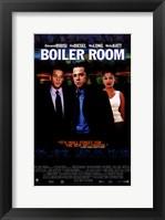 Framed Boiler Room Vin Diesel