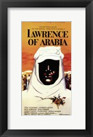 Framed Lawrence of Arabia
