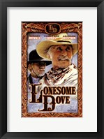 Framed Lonesome Dove