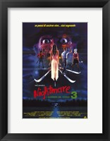 Framed Nightmare on Elm Street 3: Dream Warrior Italian