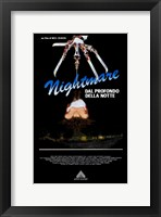 Framed Nightmare on Elm Street  a - knife hand