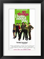 Framed Ten Things I Hate About You