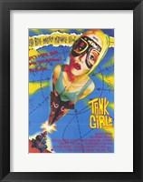 Framed Tank Girl Lori Petty