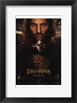 Framed Lord of the Rings: Return of the King - King Aragorn