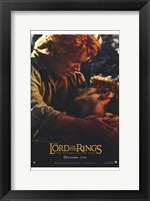 Framed Lord of the Rings: Return of the King Frodo and Sam