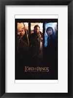 Framed Lord of the Rings: Return of the King Legolas Aragorn Frodo
