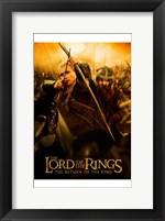 Framed Lord of the Rings: Return of the King Legolas