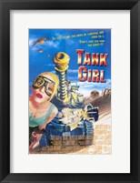 Framed Tank Girl Film