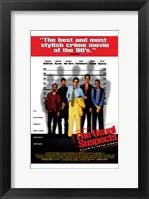 Framed Usual Suspects - 5 men