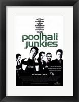 Framed Poolhall Junkies