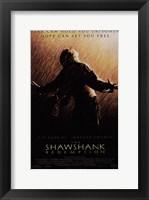 Framed Shawshank Redemption Freedom