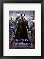 Framed Matrix - man in all black
