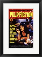 Framed Pulp Fiction