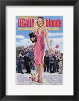 Framed Legally Blonde