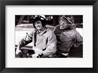 Framed Dumb and Dumber - B&W