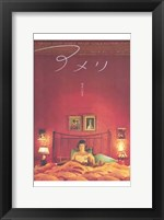 Framed Amelie - in bed