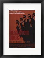 Framed Reservoir Dogs Orange