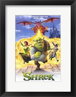 Framed Shrek