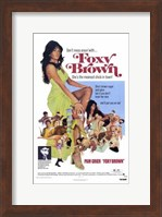 Framed Foxy Brown, c.1974