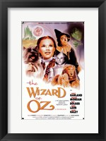 Framed Wizard of Oz Actors