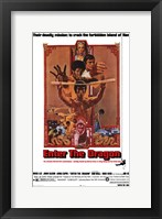Framed Enter the Dragon Deadly