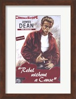 Framed Rebel Without a Cause Smoking