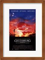 Framed Gettysburg Martin Sheen