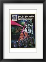 Framed Dr Who and the Daleks