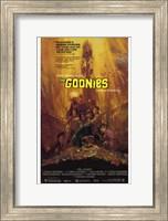 Framed Goonies - Scared