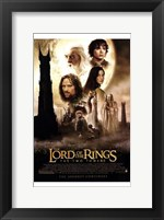 Framed Lord of the Rings: the Two Towers Main Characters