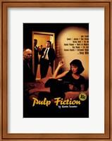 Framed Pulp Fiction Cast