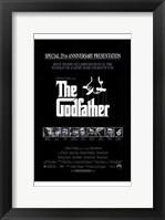 Framed Godfather B&W