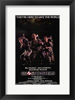 Framed Ghostbusters Cast