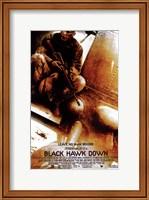 Framed Black Hawk Down