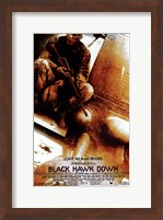 Framed Black Hawk Down