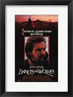 Framed Dances with Wolves 7 Academy Awards