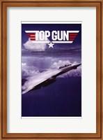 Framed Top Gun Fighter Jet
