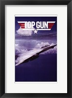 Framed Top Gun Fighter Jet