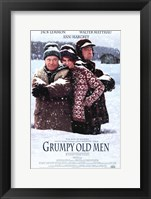 Framed Grumpy Old Men