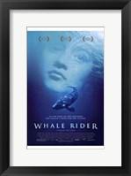 Framed Whale Rider