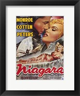 Framed Niagara Marilyn Monroe Lounging
