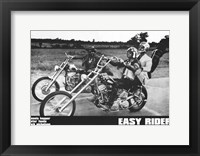 Framed Easy Rider Motorcycle