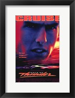 Framed Days of Thunder