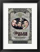 Framed Boiler Room