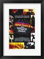 Framed Star Trek 2: the Wrath of Khan Movie