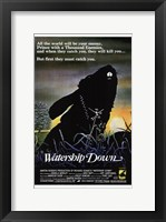 Framed Watership Down