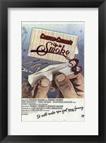 Framed Cheech and Chong's Up in Smoke
