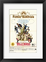 Framed Willy Wonka and the Chocolate Factory - family matinee