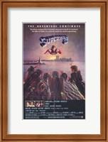 Framed Superman 2 Flying Above River