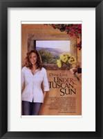 Framed Under the Tuscan Sun - sunflowers